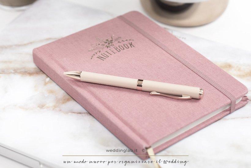 notebook per organizzare il matrimonio- 2018: l'anno in cui ti sposerai