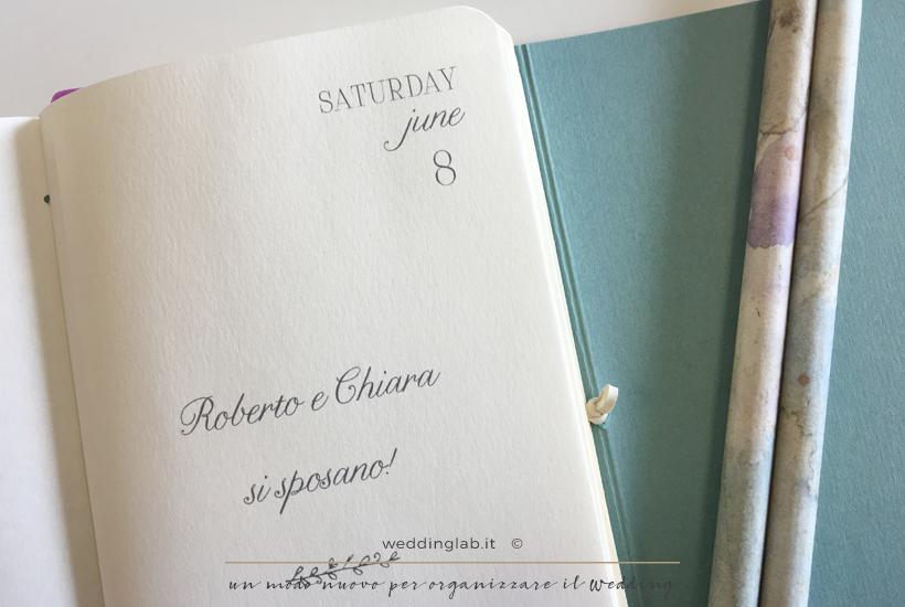 Partecipazione-diario di viaggio - partecipazioni matrimonio a tema viaggio