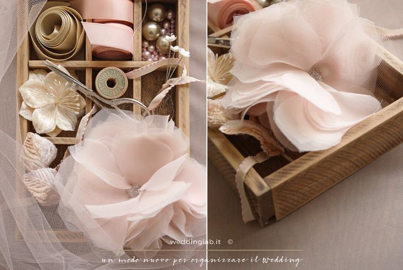 DIY: Pettinino da sposa in chiffon