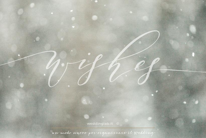 matrimonio invernale- atmosfera suggestiva